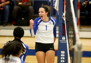 Georgia Staet outside hitter Kristina StinsonPhoto Credit: Jason Getz
