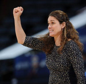 Georgia State women's basketball head coach Sharon Baldwin-TenerPhoto credit:  Joe Imel