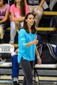 Georgia Tech volleyball head coach Michelle CollierPhoto credit: Georgia Tech Athletics