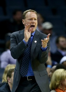 Atlanta Hawks' coach Mike BudenholzerPhoto credit: Streeter Lecka/Getty Images