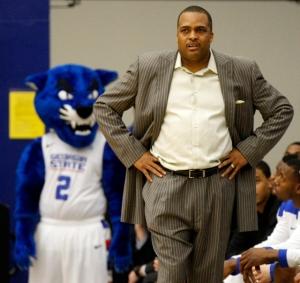 Georgia State men's basketball head coach Ron HunterPhoto credit: