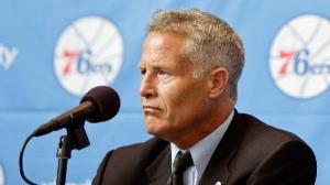 Philadelphia 76ers head coach Brett BrownPhoto credit: AP