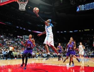 Atlanta Dream guard Tiffany HayesPhoto credit: Scott Cunningham/NBAE/Getty Images