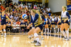 Georgia Tech outside hitter Teegan Van GunstPhoto credit: Georgia Tech Athletics