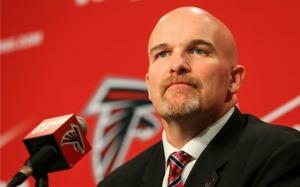 Atlanta Falcons' head coach Dan QuinnPhoto credit: Getty Images
