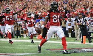 Atlanta Falcons cornerback Desmond Trufant (21)Photo credit: Curtis Compton/ Atlanta Journal Constitution