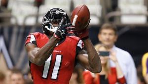 Atlanta Falcons wide receiver Julio JonesPhoto credit:(AP /David Seelig