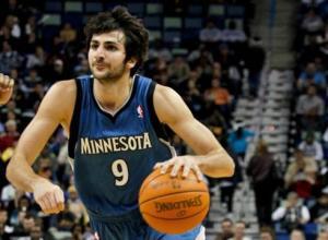 Minnesota Timberwolves guard Ricky RubioPhoto credit: Derick Hingle / US Presswire