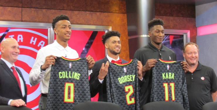 Hawks draft picture