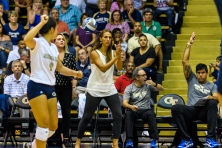 Georgia Tech volleyball Michelle Collier