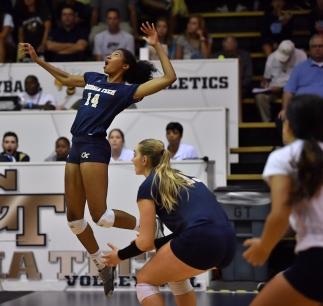 Georgia Tech volleyball Cori Clifton