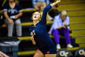 Georgia Tech volleyball Grace Rigsbee