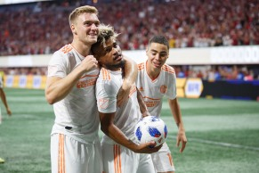 Atlanta United team celeration