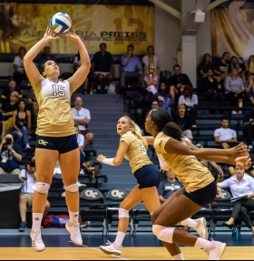 Georgia Tech volleyball Lexi Dorn